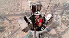 Dallas Campbell, Burj Khalifa