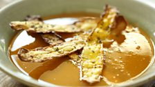 Image for Butternut squash soup with crisps