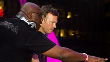 Pete Tong vs Carl Cox at Radio 1's Free Party