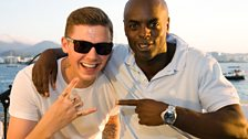 Professor Green & Trevor at Cafe Mambo