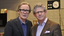 Bill Nighy and Jon Glover