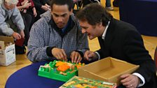 Dev and Paul interested in Screwball Scramble.