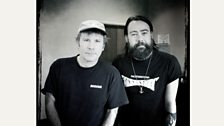 Daniel and Iron Maiden frontman Bruce Dickinson