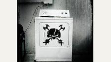 An Iron Maiden washing machine