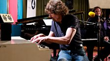 Image for Rod Argent demonstrates the Mellotron