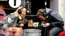 Fearne Cotton (and a poncho)