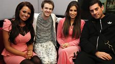 Jess & Arg from The Only Way Is Essex with Alex Day and Stacy Soloman
