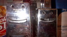 Anonymous smiley graters