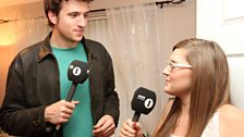 Greg chats to host Lindsay