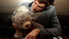 Ryan Bear helps Greg decide on dinner