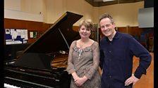 John Paul Jones and Fiona Talkington