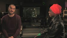 Image for Laura Mvula chats with Zane Lowe