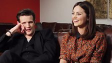 Image for Matt Smith and Jenna-Louise Coleman on The Snowmen