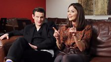 Image for Matt Smith and Jenna-Louise Coleman interview each other!