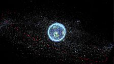 Image for Space debris danger
