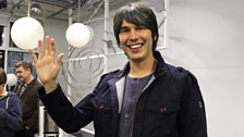 Goodbye from Professor Brian Cox