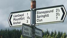 A signpost at a crossroads