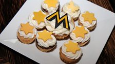 Special MOBO cupcakes