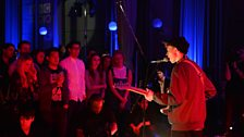 King Krule in session at Future Festival