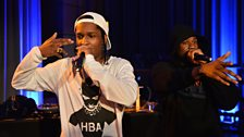 A$AP Rocky in session at Future Festival