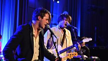 Palma Violets in session at Future Festival