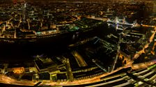 Over the Thames - Night