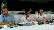 """The TMS """"Commentary Box"""" at the BKC in Mumbai"""