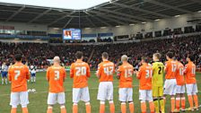 Blackpool pay tribute to 5 live's David Oates