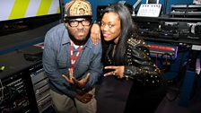 Image for Lady Leshurr performs a freestyle over MistaJam's mix