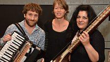 Martin Green, Verity Sharp and Sheema Mukherjee