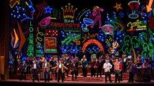 """A scene from Act I of Verdi's """"Rigoletto."""""""