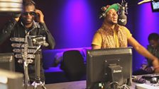 Image for Fuse ODG lays down an Azonto freestyle for DJ Edu