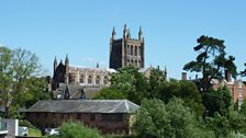 Hereford Cathedral, taken by Clare (Presteigne)