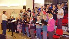 Lochranza Choir, taken by Ian (Lochranza)