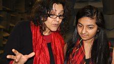 Meera Syal as Indir and Rhea Somaiya, who played Durga