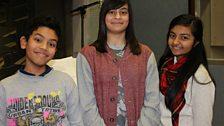 Our wonderful child actors - Adnan Chowdhury, Nuha Fabiha Sultana and Rhea Somaiya