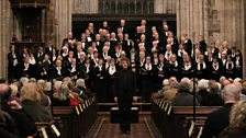 The Ludlow Choral Society with Patrick Larley conducting at St. Laurence's Church, sent in by Jane (Ludlow)