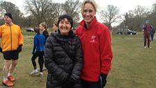 "BBC newsreader Sophie Raworth ""addicted to running"""