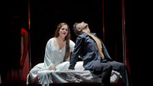 """Katarina Dalayman as Kundry and Jonas Kaufmann as the title character in Wagner's """"Parsifal."""""""