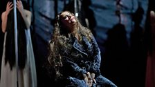 """Katarina Dalayman as Kundry in Wagner's """"Parsifal."""""""
