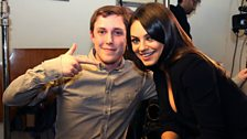 Image for Mila Kunis talks to Chris Stark