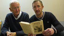 Writer Stephen Wakelam and Ralph Ineson (who plays Fred)