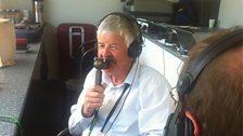 Glenn Turner in the TMS commentary box