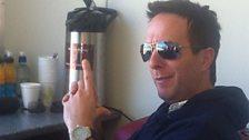 Michael Vaughan in Dunedin