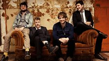 Image for Mumford & Sons talk to Greg James