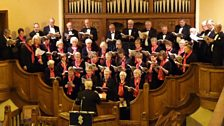 Northam Choral Society singing in Bideford Methodist Church. Taken by Paul (Appledore)