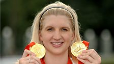 Image for Rebecca Adlington's advice for dealing with nerves