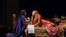 """Marcello Giordani as Paolo il Bello and Eva-Maria Westbroek in the title role in Zandonai's """"Francesca da Rimini."""""""