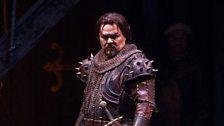"""Mark Delavan as Gianciotto in Zandonai's """"Francesca da Rimini."""""""