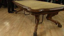 Image for Horse-legged table from Cheltenham Racecourse